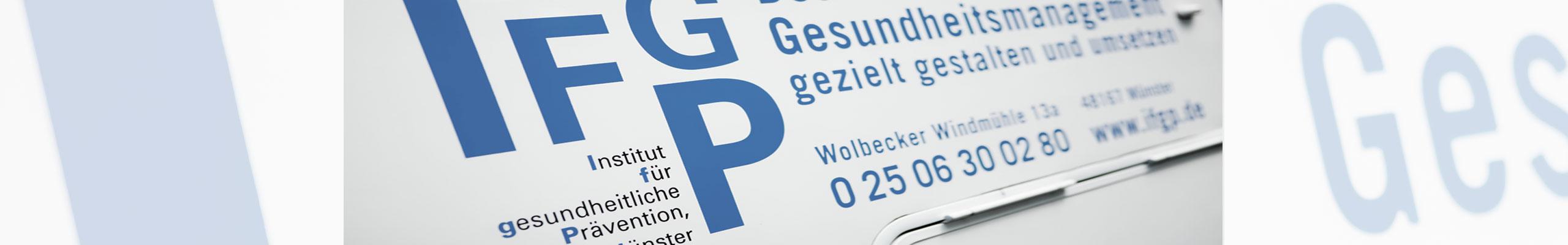 Wege zu mehr Gesundheit & Leistungsfähigkeit - das IFGP als Ihr ...